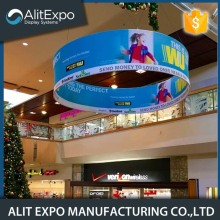 Indoor trade show advertising display banner board stand