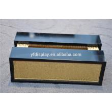 suporte de caixa de papel de tecido acrílico de alta qualidade