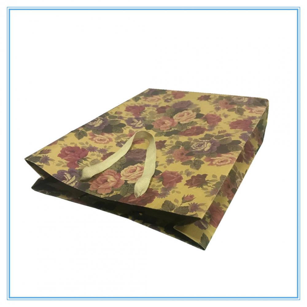 Paper Bag For Packaging Flower
