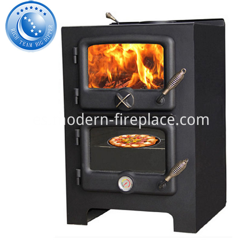 Wood Burning Fireplace Grill Free Standing With Wall Fires