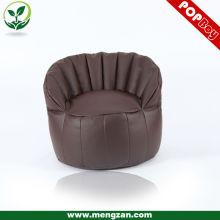 2013 novo design PU sofá beanbag de couro, cadeira de saco de feijão