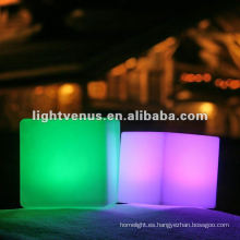 club nocturno / bar PE Led cubo de luz