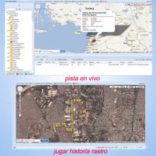 Software del sistema de gestión de flotas, software del servidor GPRS, software de seguimiento web (TS05-KW)