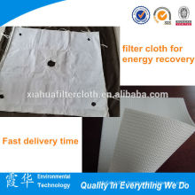 factory price polypropylene napped woven filter cloth for energy recovery