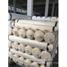 100 GSM DYED POLYESTER FABRIC WHITE COLOR FOR HOTEL