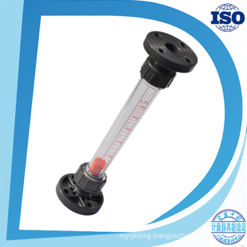 High Pressure Controller Industrial 4-20mA Glass PVC Flow Meter