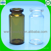 Bouteille tubulaire standard ISO de 10 ml