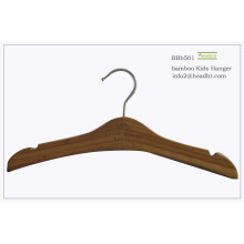 Kids Recyclable Bamboo Top Children′s Coat Hanger