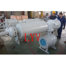 Pneumatic Electric Operated Forged Flanged Ball Valve