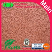 Orange Metallic Powder Coating Outdoor Powder