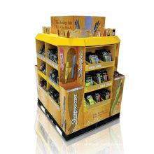 Display de papelão pop, exibição de papelão de loja