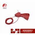 Wenzhou BAODSAFE Étiquette de verrouillage du câble réglable BDS-L8601 Couleur rouge