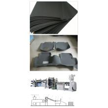 EVA Car Decoration Sheet Extusion Machinery / EVA Sheets Extrusion Line
