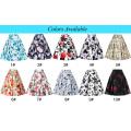 Grace Karin Occidente Vintage retro 50s falda de algodón floral patrón CL008925-10