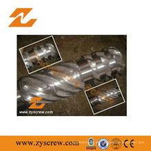 Fabricación bimetálica de un solo tornillo y barril para extrusora de plástico