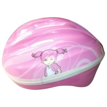 Roller Skate Kids Pink Carton Helmet