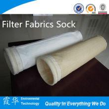 Metal Industrial Filtro Telas Calcetín para filtro de bolsa