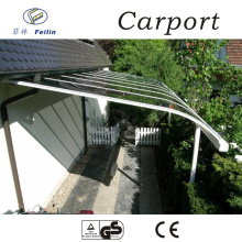 Polycarbonate and aluminum carport space frame steel sheds made in China