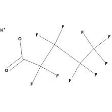 Perfluoropentanoato de potássio No. CAS 336-23-2
