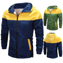 Men Sun Protection Outdoor Fishing Hiking Hooded Softshell Jacket