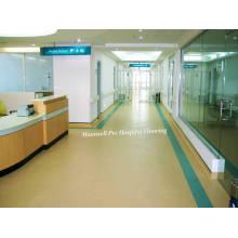Suelo médico del vinilo / del PVC / suelo usado hospital