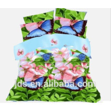 2015 butterfly polyester printed fabric