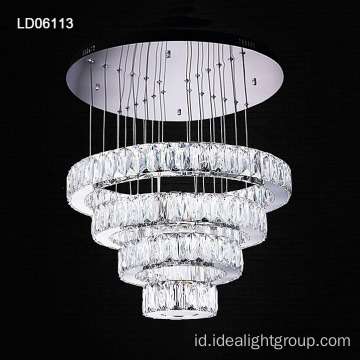 chandelier stainless steel modern cincin chandelier kristal