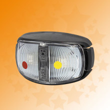 100% Waterproof E- Mark 10-30V LED Side Marker Lamps