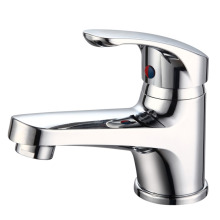 Chromed Single Handle Basin Faucet