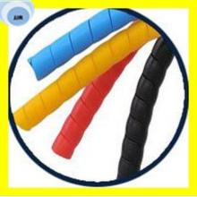Excellents protecteurs en plastique colorés de tuyau de garde de tuyau en spirale en plastique