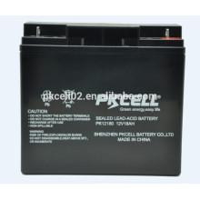 Batería de plomo sellada 12V 18Ah para UPS, AGM, energía de respaldo y otros equipos de iluminación
