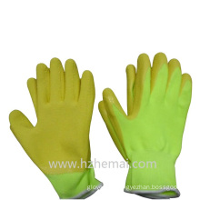 Colorful Gardening Gloves Foam Latex Coated Safey Work Glove