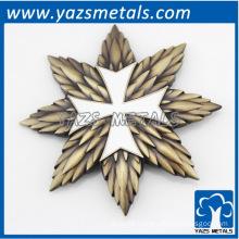 Custom metal decorations 3D labels