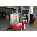 La maquinaria de envoltura robotizada utiliza el empaque de película LLDPE