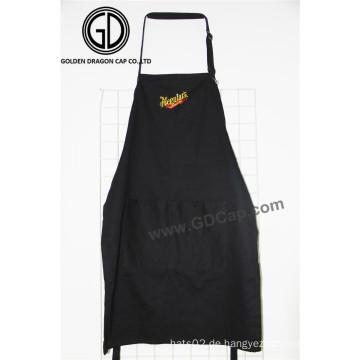 Werbeartikel Baumwolle Polyester Küche Kochschürze mit Customized Stickerei Logo