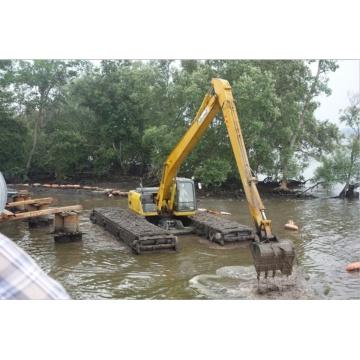 Wheel Amphibious Excavator Sale