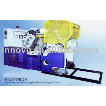 Automatic Foil Stamping and Die Cutting Machine