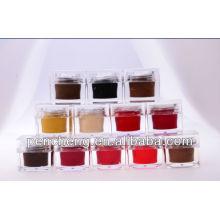 Fabrication Fabrication Permanent Maquillage Cosmétique Pigment Pour sourcil Lip Et Eyeliner