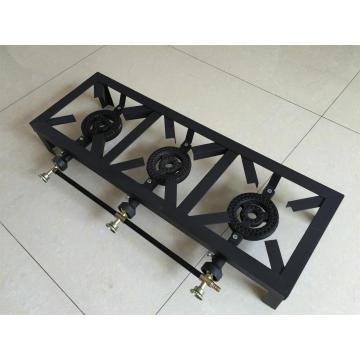 3 горелки газовая плита Sgb-03