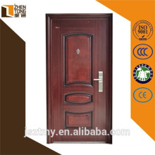 High evaluation stock security door,stone frame door,residential steel double entry doors