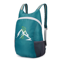 Custom practical outdoor nylon leisure backpack for school