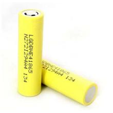 Lghe4 2500mAh 20A Entladung wiederaufladbare Lithium-Batterie 3.7V 18650 Akku