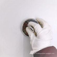 Crochet de pêche à poignée de détecteur de métaux à un boulon à œil