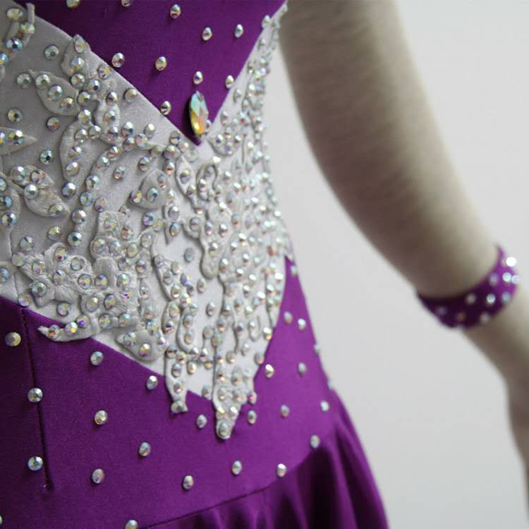 Purple Dance Dress