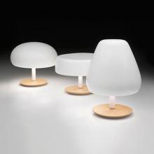 Белые настольные лампы для спальни