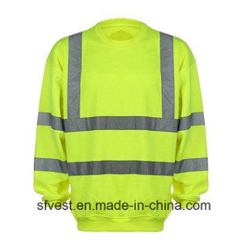 Camisola de alta visibilidade reflectora de segurança personalizada com ISO