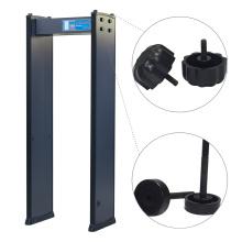 4 Zonas Inspección de Fábrica 200 Detección de Sensibilidad a través de Detector de Metales