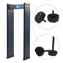 4 Zones Factory Inspection 200 Sensitivity Walk Through Metal Detector