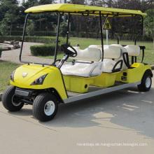 CE-zertifizierte billig Großhandel 6 Sitz elektrischen Golfwagen (DG-C6)