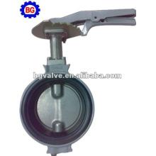 Válvula de mariposa de cuerpo de aluminio de 1 pulgada